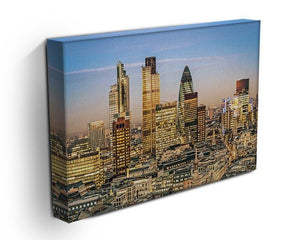 Stock Exchange Tower and Lloyds of London Canvas Print or Poster - Canvas Art Rocks - 3