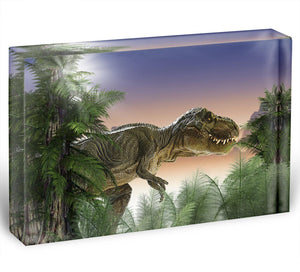 Stock Photo dinosaur Acrylic Block - Canvas Art Rocks - 1