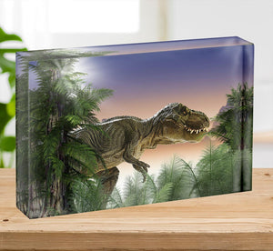 Stock Photo dinosaur Acrylic Block - Canvas Art Rocks - 2