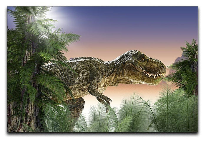 Stock Photo dinosaur Canvas Print or Poster