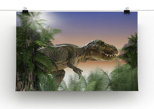 Stock Photo dinosaur Canvas Print or Poster - Canvas Art Rocks - 2