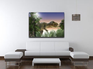 Stock Photo dinosaur Canvas Print or Poster - Canvas Art Rocks - 4