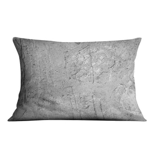 Stone concrete floor Cushion - Canvas Art Rocks - 4