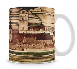 Stone on the Danube II by Egon Schiele Mug - Canvas Art Rocks - 1