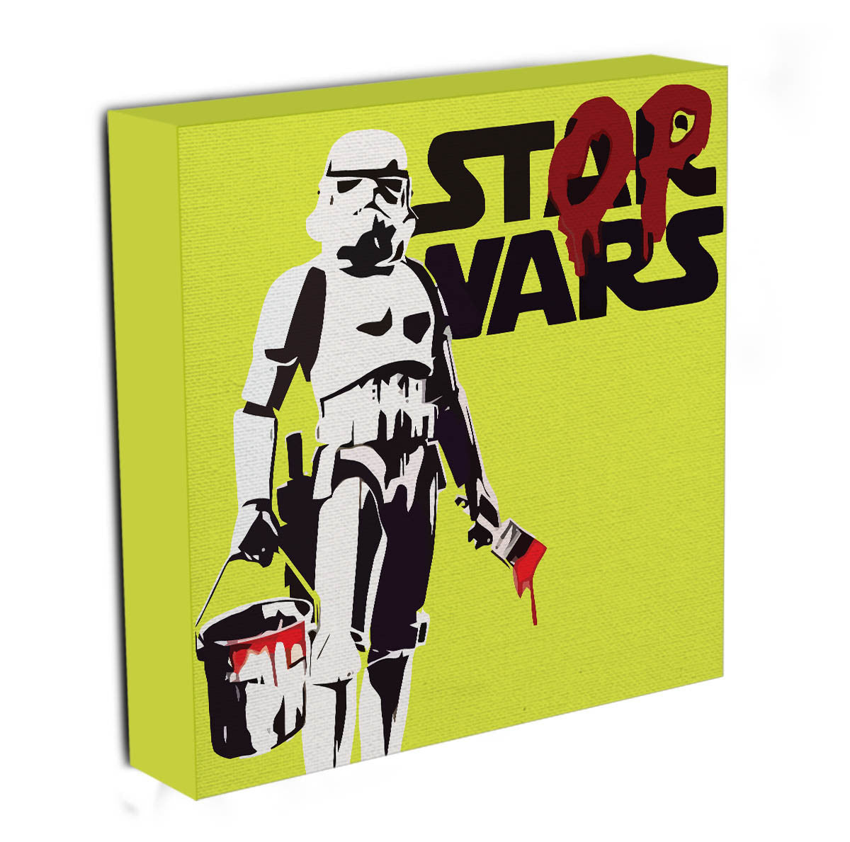 Banksy Stop Wars Star Wars Canvas Print & Poster | Canvas Art Rocks