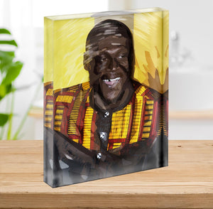 Stormzy Pop Art Acrylic Block - Canvas Art Rocks - 2