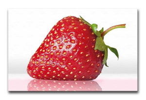 Juicy Strawberry Print - Canvas Art Rocks - 1