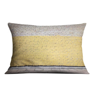 Street wall background Cushion - Canvas Art Rocks - 4