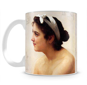 Study Of A Woman For Offering To Love By Bouguereau Mug - Canvas Art Rocks - 2