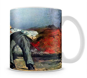 Suicide by Manet Mug - Canvas Art Rocks - 1