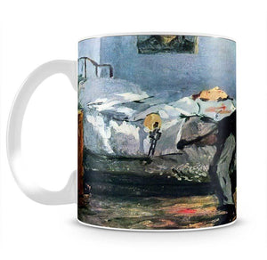 Suicide by Manet Mug - Canvas Art Rocks - 2
