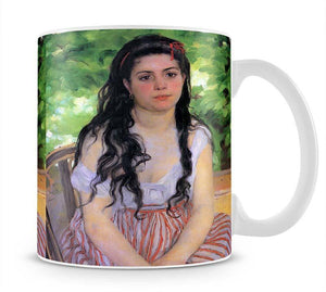 Summertime study by Renoir Mug - Canvas Art Rocks - 1