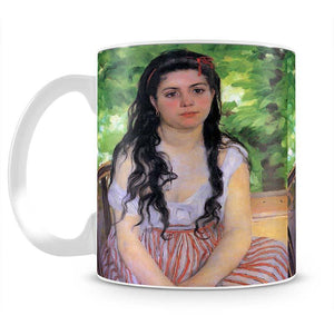 Summertime study by Renoir Mug - Canvas Art Rocks - 2