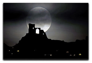 Super Moon at Mow Cop Canvas Print or Poster - Canvas Art Rocks - 1