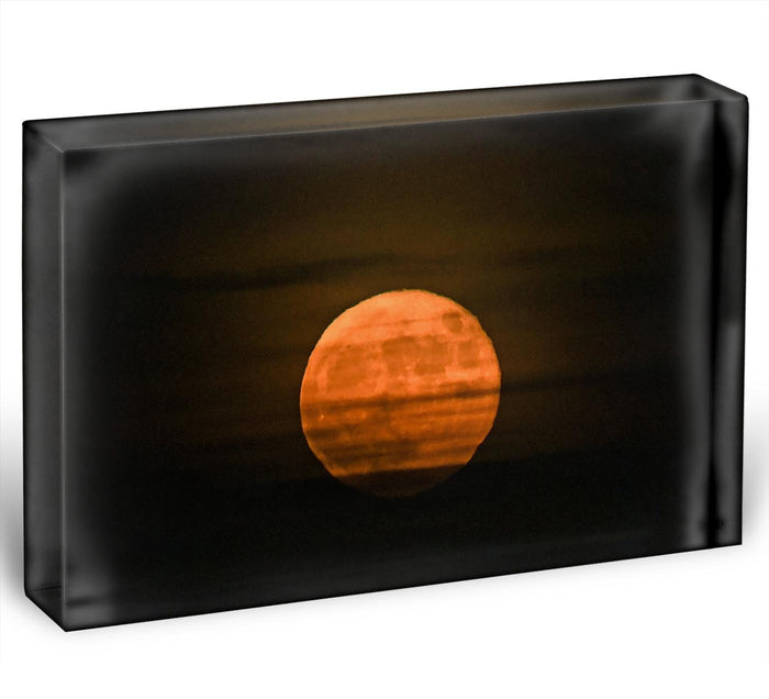 Super moon Acrylic Block