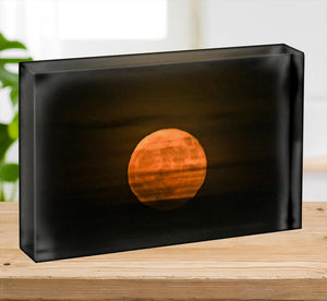 Super moon Acrylic Block - Canvas Art Rocks - 2