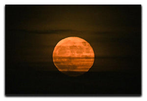 Super moon Canvas Print or Poster - Canvas Art Rocks - 1
