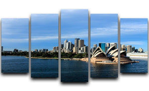 Sydney Australia City Skyline 5 Split Panel Canvas  - Canvas Art Rocks - 1