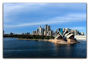 Sydney Australia City Skyline Canvas Print or Poster  - Canvas Art Rocks - 1