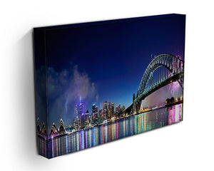 Sydney Harbour NYE Fireworks Canvas Print or Poster - Canvas Art Rocks - 3