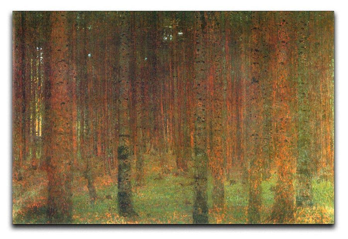 Tannenwald II by Klimt Canvas Print or Poster
