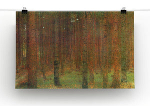 Tannenwald II by Klimt Canvas Print or Poster - Canvas Art Rocks - 2
