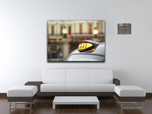 Taxi car selective focus Canvas Print or Poster - Canvas Art Rocks - 4