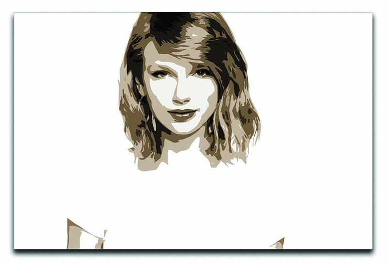 Taylor Swift Canvas Print or Poster  - Canvas Art Rocks - 1
