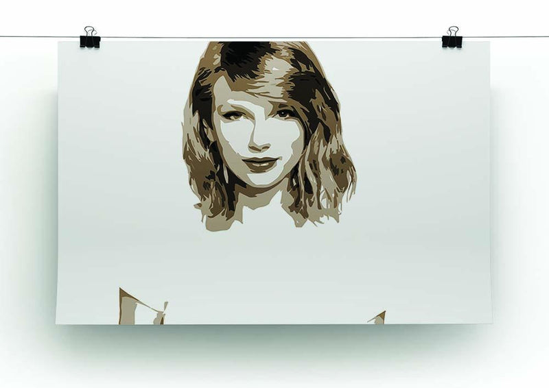 Taylor Swift Canvas Print or Poster - Canvas Art Rocks - 2