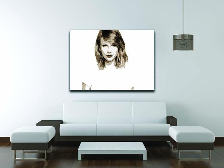Taylor Swift Canvas Print or Poster - Canvas Art Rocks - 4