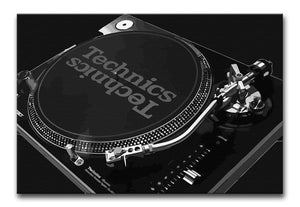 Technics 1210 Record Deck Print - Canvas Art Rocks - 10