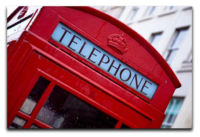 Telephone Box Canvas Print or Poster