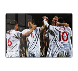 Terry Lampard Gerard and rooney England HD Metal Print