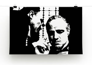 The Godfather Print - A Word With The Don - Canvas Art Rocks - 2
