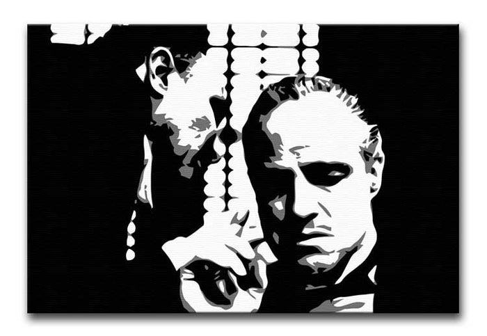 The Godfather  - A Word With The Don Canvas Print or Poster