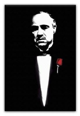 The Godfather Don Corleone Print - Canvas Art Rocks - 1