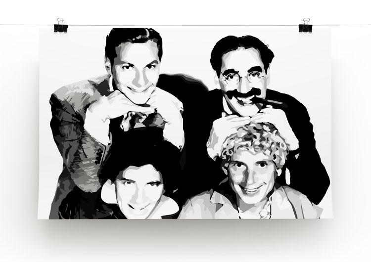 The Marx Brothers Print - Canvas Art Rocks - 2