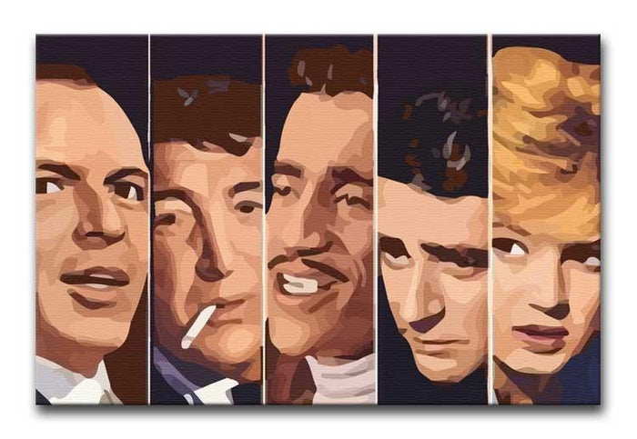 The Rat Pack Ocean's 11 Canvas Print or Poster