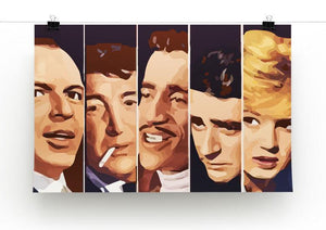The Rat Pack Ocean's 11 Print - Canvas Art Rocks - 2