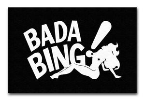 The Sopranos Bada Bing Print - Canvas Art Rocks - 1