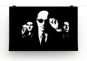 "The Sopranos ""Like Brothers"" Print - Canvas Art Rocks - 2"