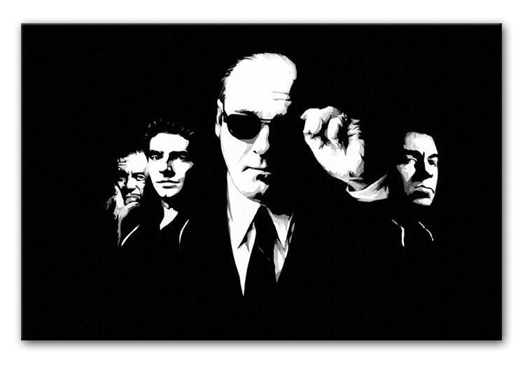 "The Sopranos ""Like Brothers"" Print - Canvas Art Rocks - 1"