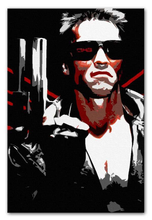 The Terminator Canvas Print or Poster