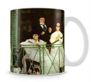 The Balcony by Manet Mug - Canvas Art Rocks - 1