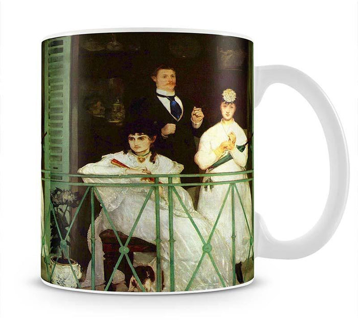 The Balcony by Manet Mug