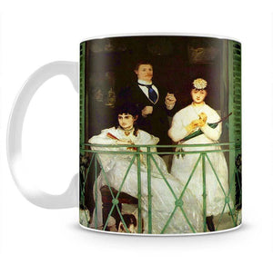 The Balcony by Manet Mug - Canvas Art Rocks - 2