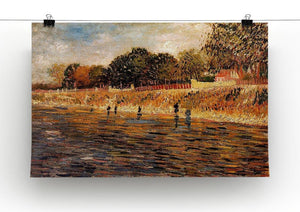 The Banks of the Seine by Van Gogh Canvas Print & Poster - Canvas Art Rocks - 2