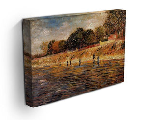 The Banks of the Seine by Van Gogh Canvas Print & Poster - Canvas Art Rocks - 3