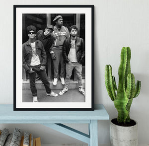 The Beastie Boys Framed Print - Canvas Art Rocks - 1