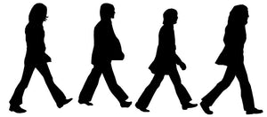 The Beatles Abbey Road Wall Decal - Canvas Art Rocks